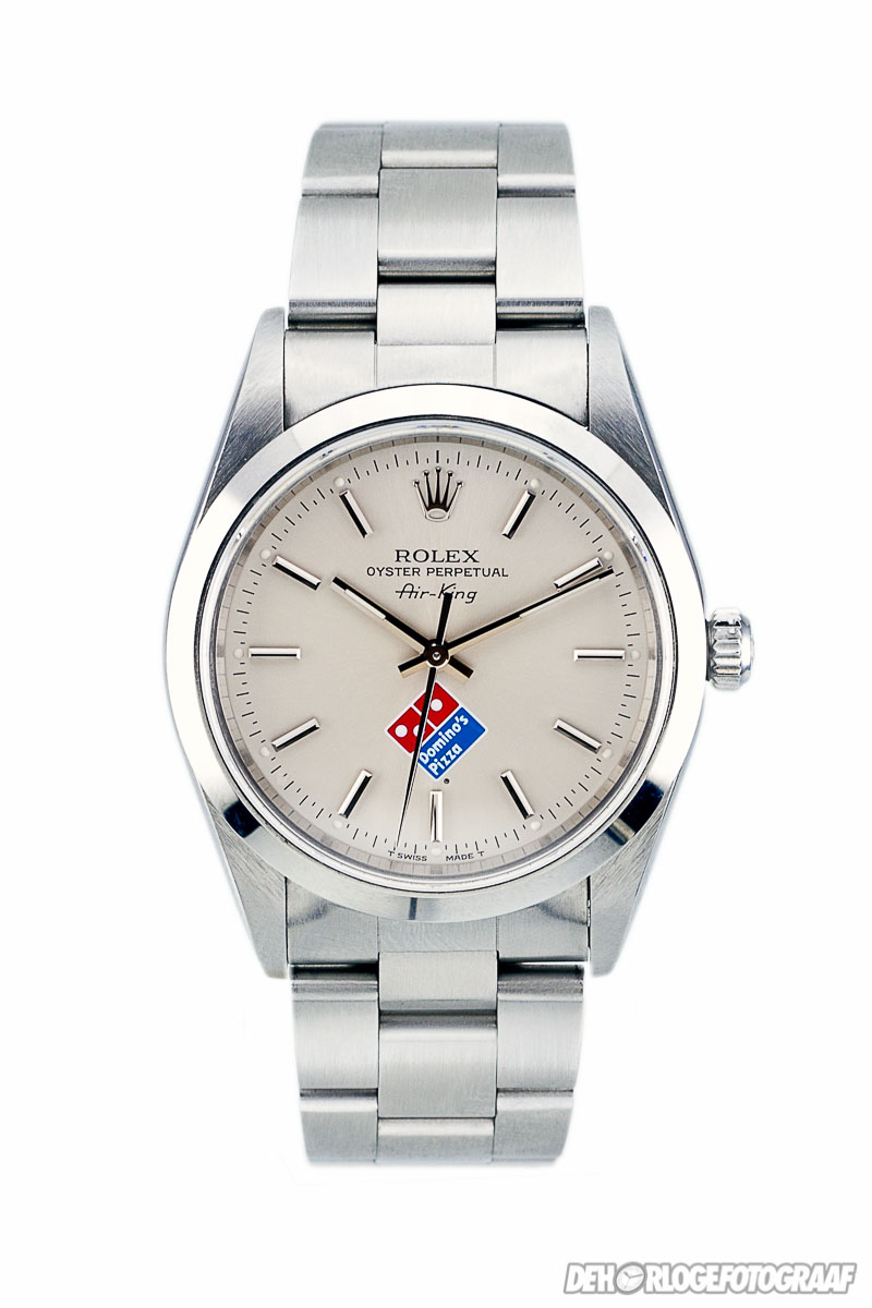 Rolex_Airking_Domino_Pizza
