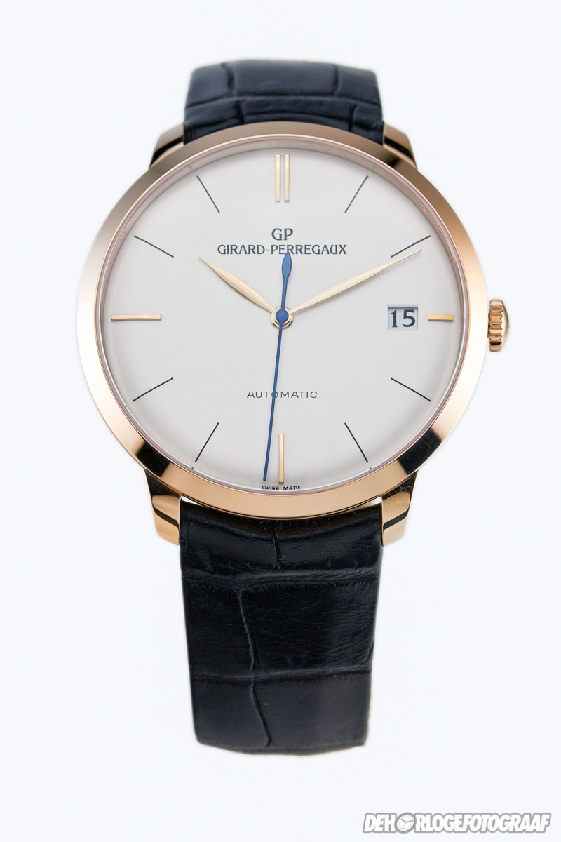 Girard perregaux 1966 in pink gold for Girard perregaux