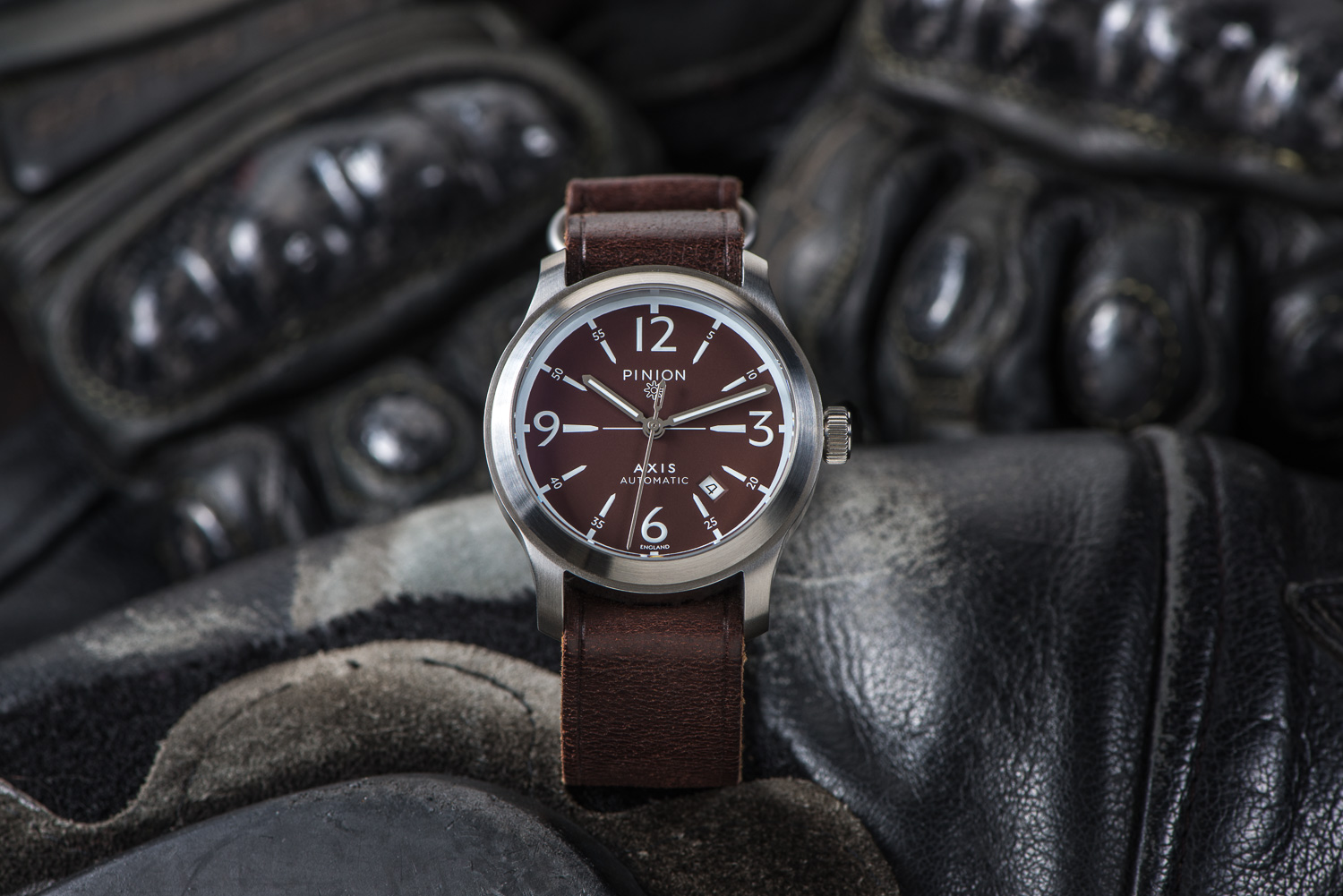 watch pinion british watches the atom collection